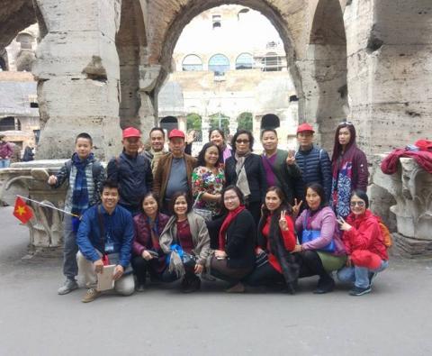 Du lịch Châu Âu 5 nước Pháp - Thụy Sĩ - Ý - Vatican - Monaco