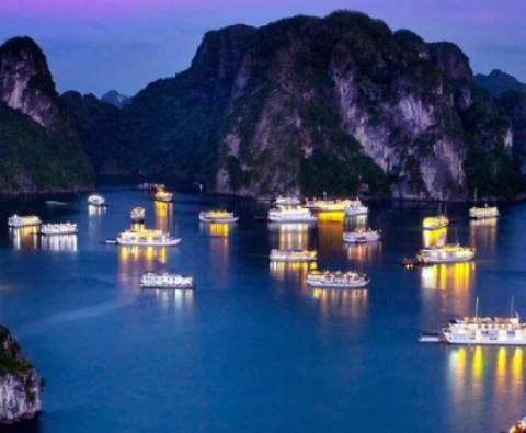Tour ghép Du thuyền Hạ Long 3 sao  - Trải nghiệm ngủ đêm trên Vịnh